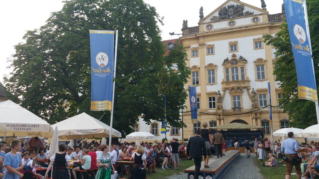 Brauereivolksfest in Ellingen