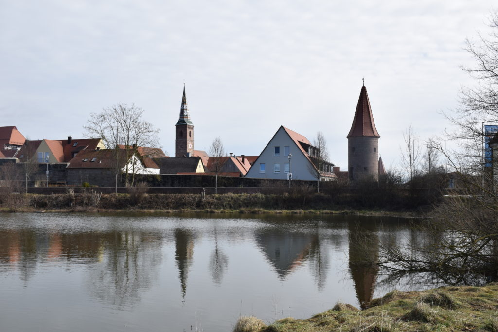 Stadtansicht von Wolframs-Eschenbach