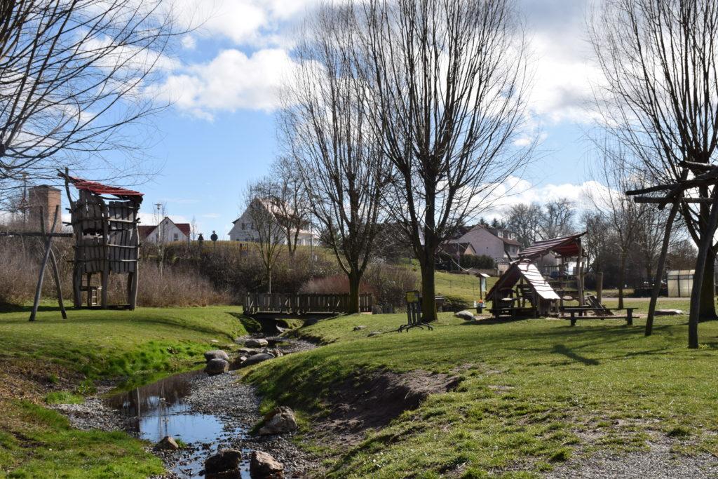 Ritterspielplatz in Wolframs-Eschenbach