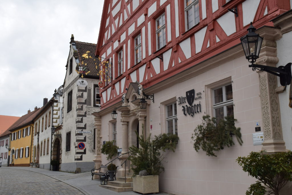 Die Alte Vogtei in Wolframs-Eschenbach