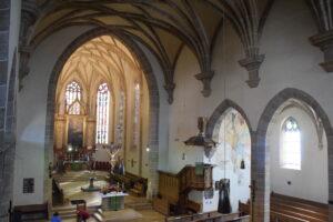 Die evangelische Stadtkirche in Gunzenhausen