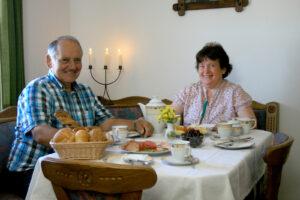 Fritz Walter und Frau Helga