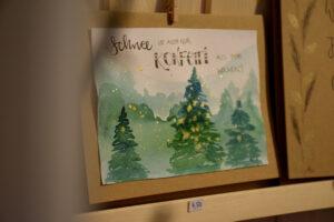 Weihnachtskarte aus der See.Kiste