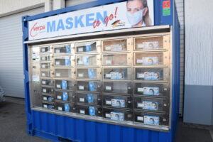 Maskenautomat von Verpa in Gunzenhausen | Foto: Vera Held